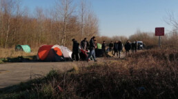 France-UK Border Research Contact Tents Refugees